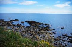 Północne Scotland falezy Obrazy Royalty Free