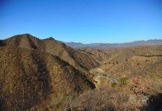 Północnego Chiny krajobraz Zdjęcie Royalty Free