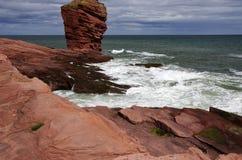 Północnego morza cllifs Obrazy Royalty Free