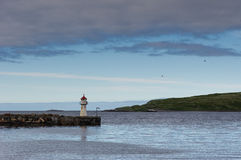 Północnego morza schronienie Fotografia Royalty Free