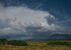 Północnej connemara dramatyczny niebo zdjęcia stock