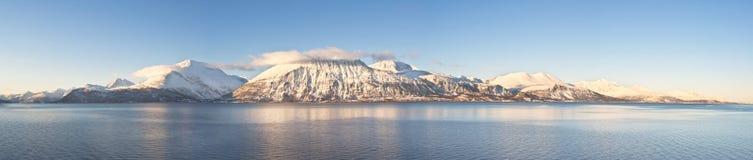 Północni Norwescy fjords Obrazy Royalty Free