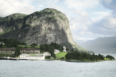 Północni Norwescy fjords Obraz Stock