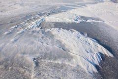 Północni reliefowi lodowowie Obraz Stock