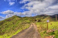 Północno-zachodni góry Tenerife, Canarian wyspy Fotografia Royalty Free