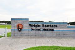 Północny Carolina usa Wright braci obywatela pomnik Obraz Royalty Free