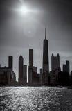 Północny Jeziorny brzeg w Chicago Zdjęcia Royalty Free