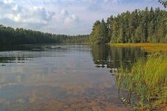 północny jezioro Zdjęcie Stock