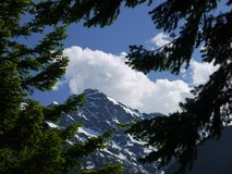 Północny kaskada park narodowy Zdjęcia Royalty Free