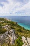 Północny Mallorca, linia brzegowa Zdjęcie Stock