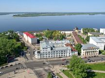 Północny miasto Rosja zdjęcie royalty free