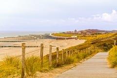 Północny morze w holandiach Fotografia Stock