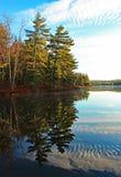 Północny Ontario jeziora odbicie Obraz Royalty Free