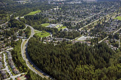północny Vancouver Zdjęcia Royalty Free