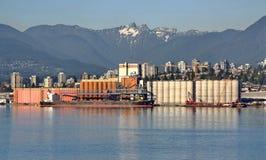 Północny Vancouver port Zdjęcia Royalty Free