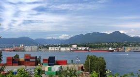 Północny Vancouver port Obrazy Royalty Free