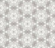 Północny wektorowy geometrical wzór z gwiazdami ilustracji