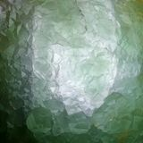 Półprzezroczysta zielona fluoryt kruszec, adobe rgb Fotografia Stock
