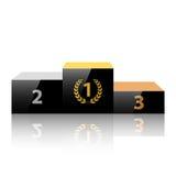 Pódio dos vencedores Imagens de Stock