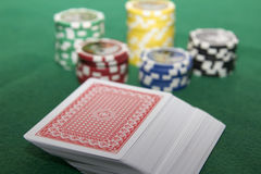 Póker imagen de archivo libre de regalías