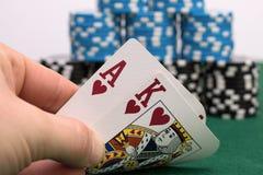 Póker Fotos de archivo