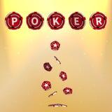 póker stock de ilustración