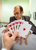 Póker del asunto Imagenes de archivo