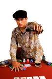 Póker del gángster Fotografía de archivo libre de regalías
