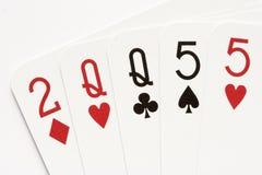 Póker - dos pares Imagen de archivo