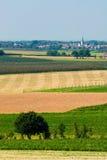 pól uprawnych krajobrazu Zdjęcie Royalty Free