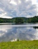 Pólnocna Karolina Bas jezioro Obrazy Royalty Free