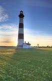 Pólnocna Karolina Bodie wyspy latarnia morska Fotografia Stock