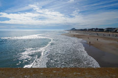 Pólnocna Karolina plaża Zdjęcia Royalty Free