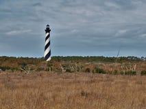 Pólnocna Karolina ` s przylądka Hatteras latarnia morska Fotografia Royalty Free