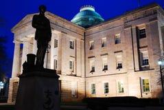 Pólnocna Karolina stanu Capitol, Raleigh Obraz Royalty Free