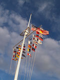 Pólo de bandeira Foto de Stock