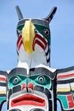 Pólo de Totem Imagem de Stock