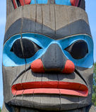 Pólo de Totem Imagens de Stock