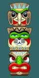 Pólo de Totem Ilustração do Vetor