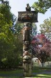 Pólo de Totem Fotografia de Stock