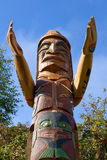 Pólo de Totem Imagens de Stock Royalty Free