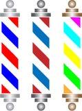 Pólo do barbeiro Foto de Stock