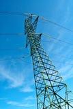 Pólo e cabos de potência foto de stock
