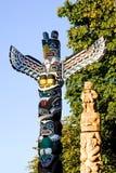 Pólos de Totem Fotos de Stock