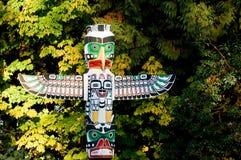 Pólos de Totem Foto de Stock Royalty Free