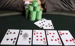 Póquer 061 Imagens de Stock