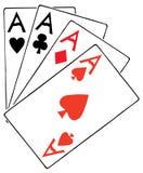 Póquer Ilustração Stock