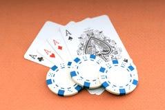 Póquer imagem de stock royalty free