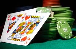 Póquer Foto de Stock