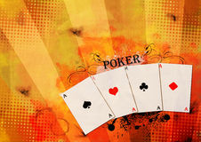 Póquer Fotografia de Stock Royalty Free